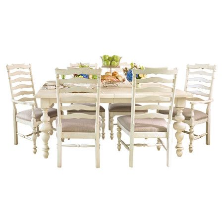 Dalton dining table in linen home decor pinterest for Home decor joss and main