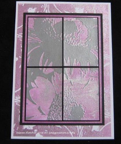 Starlights, Gerbera Art Stamp.