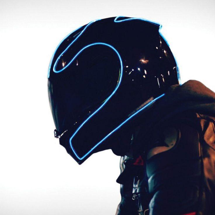 Светящийся шнур для шлема Electron Kit