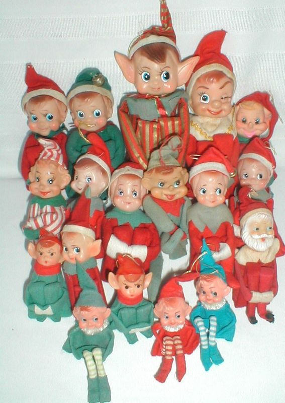 72 best Pixie Elf Love images on Pinterest | Retro christmas ...