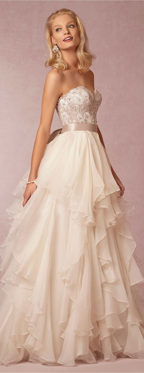 Vintage elegance is oozing out of every single one of BHLDN #WeddingDresses