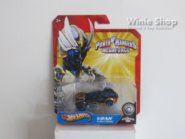 VRAK - ALIEN CYBORG - 2013 HOT WHEELS SABAN'S POWER RANGERS MEGAFORCE SERIES