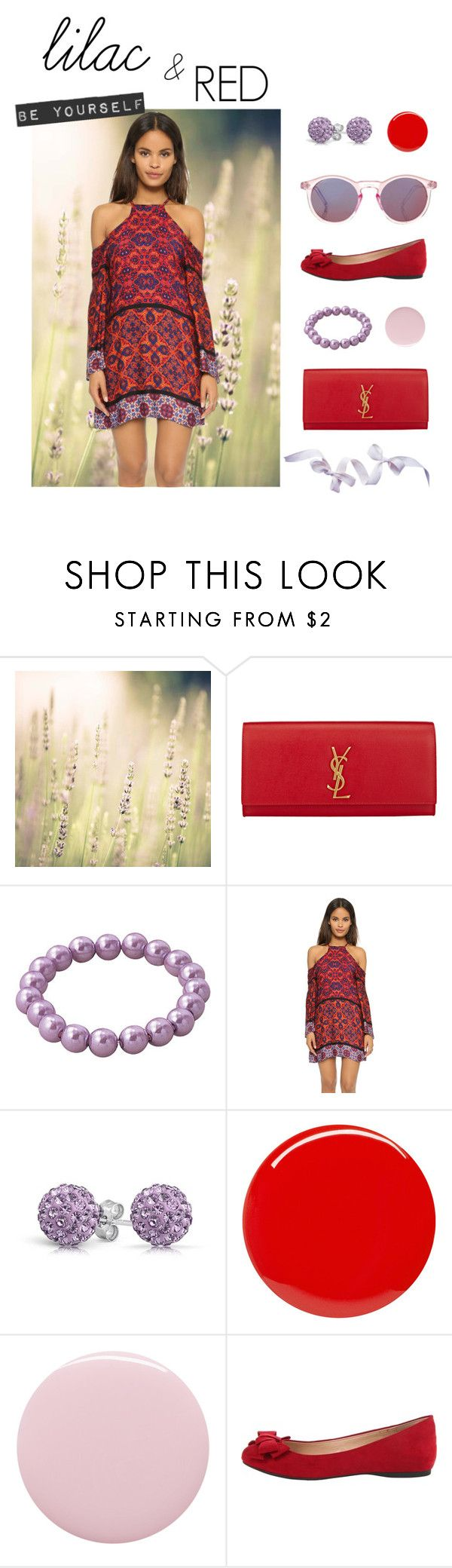 """""""Return to Spring"""" by fantalisa on Polyvore featuring moda, French Country, Yves Saint Laurent, MINKPINK, Bling Jewelry, Deborah Lippmann, Jessica Simpson e Topshop"""