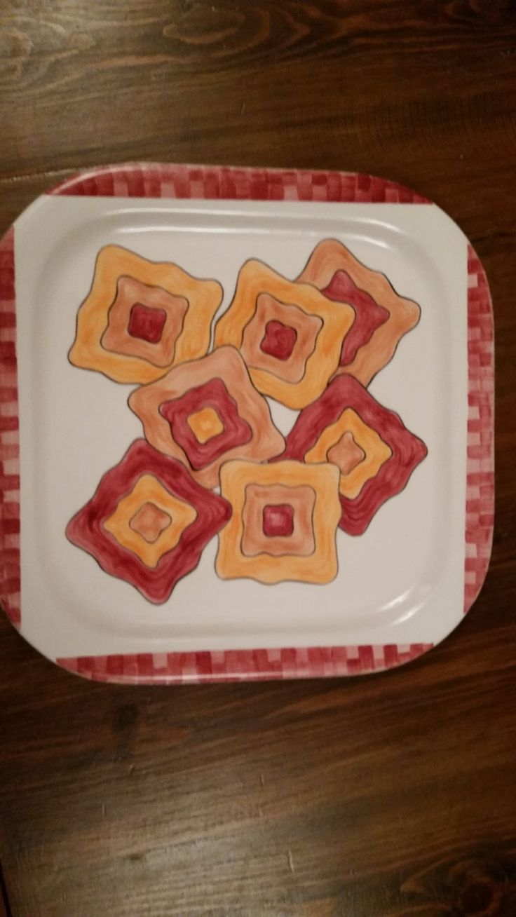 piatto, vassoio, centrotavola, ceramica dipinta a mano di cianaludo su Etsy