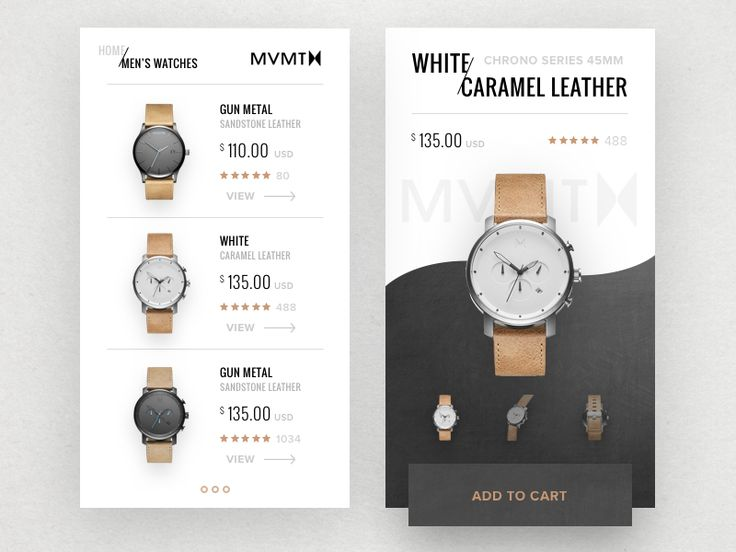 MVMT Watch by Ted Kulakevich #Design Popular #Dribbble #shots