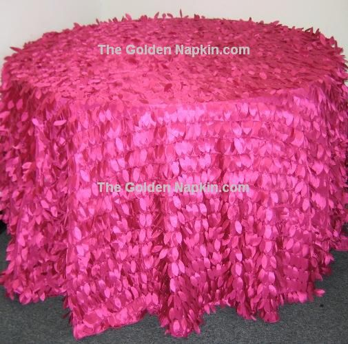 Leaf Taffeta Table Cloths at wholesale price