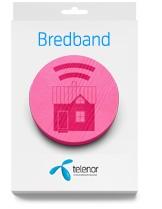 Bredband Stor - 4G-router - från Telenor
