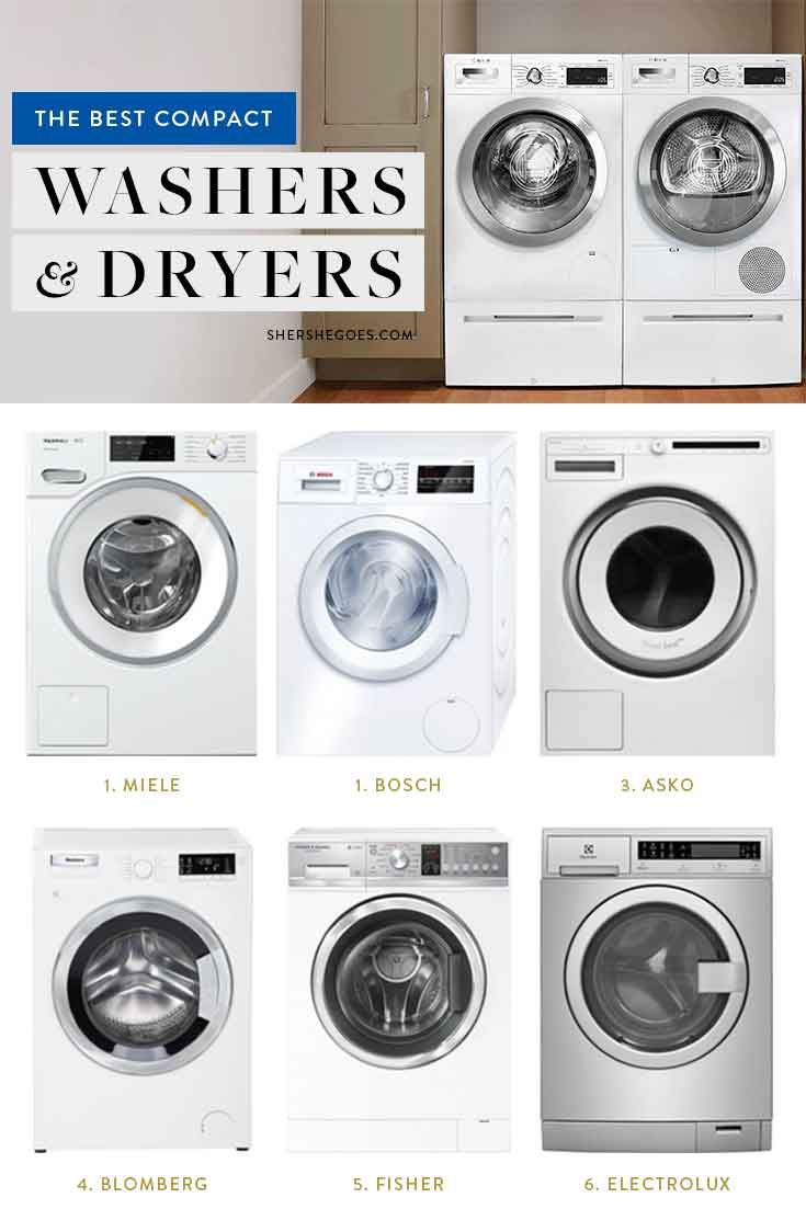 The Best Compact Washer And Dryer For A Small Apartment Compact Washer And Dryer Compact Washer Washer And Dryer