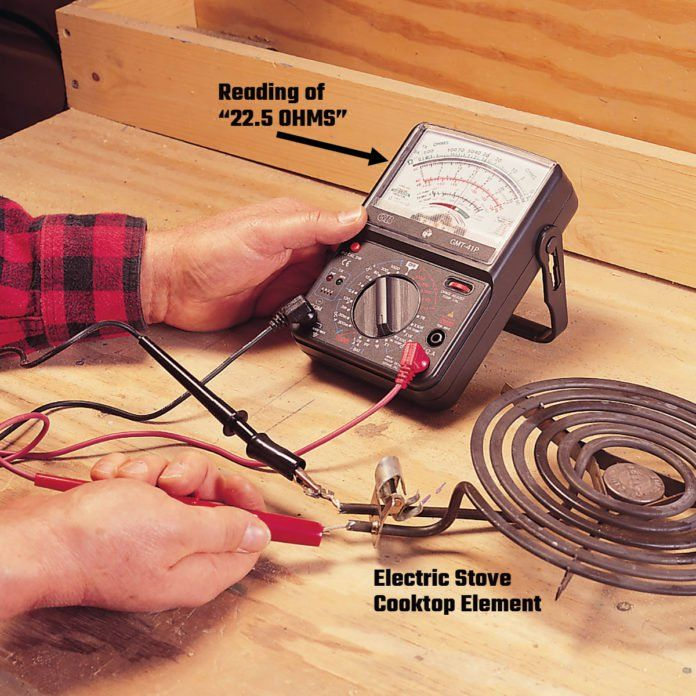 cooktop wiring a guide to multimeters and how to use them electrical projects  electrical projects