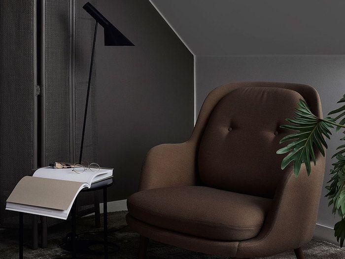 Kącik do czytania w sypialni - paleta Clay, Tikkurila Color Now 2017