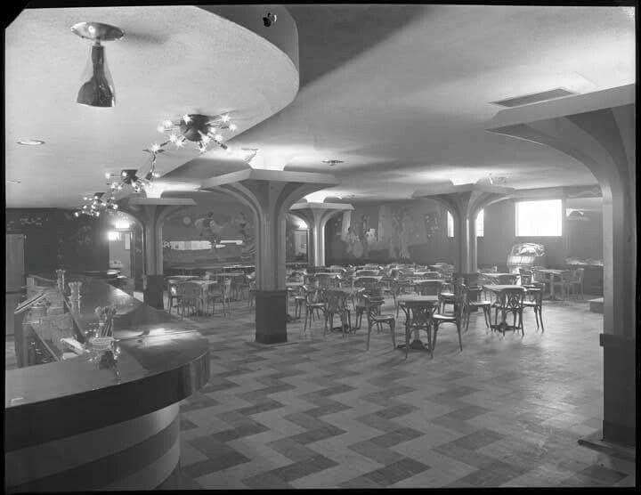 Inside The British Hotel, Aylmer, Quebec ... 1955