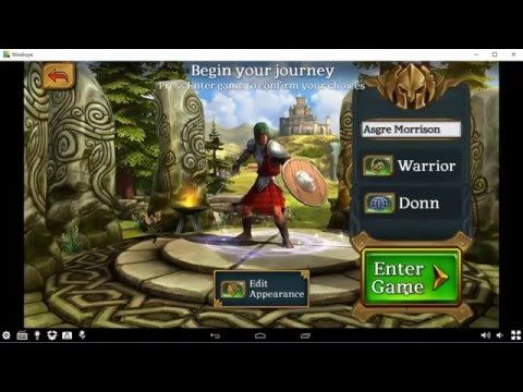 Celtic Heroes - Cómo configurar Teclado en Windroye | Juega Fácil