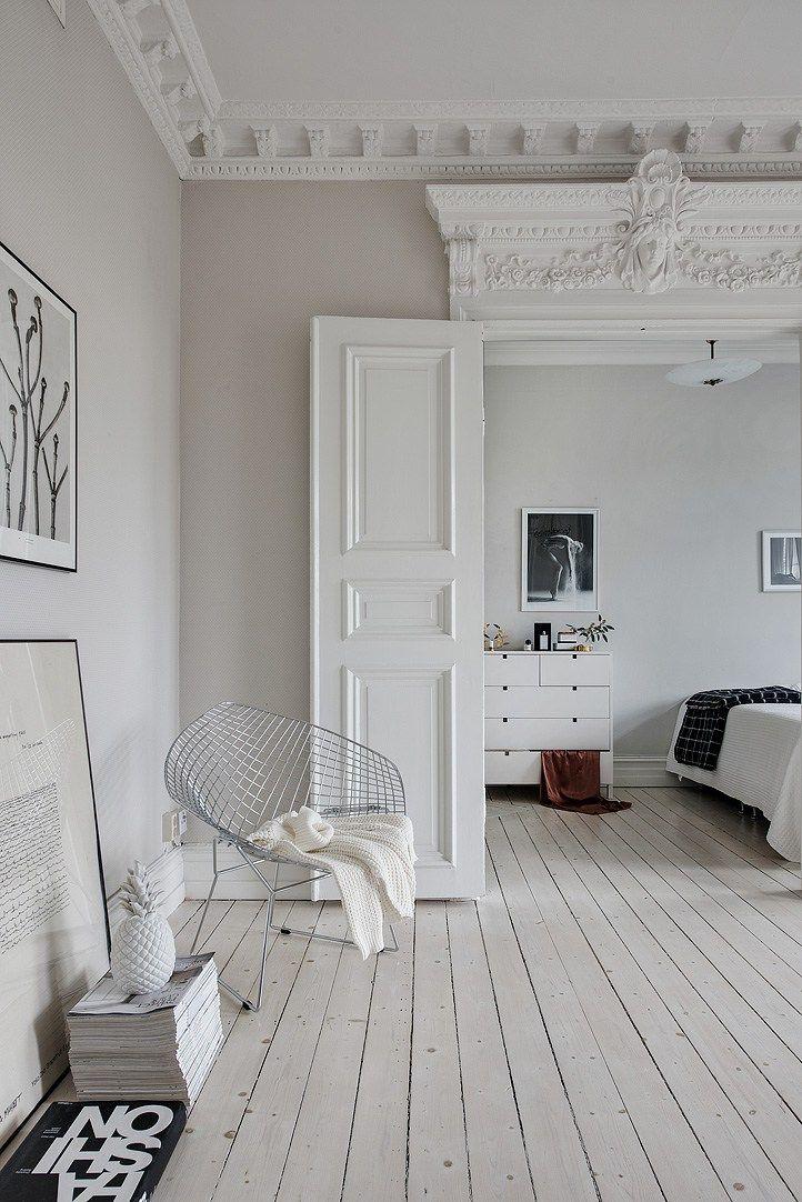 die besten 25 altbauwohnung ideen auf pinterest grauer flur skandinavische wohnr ume und. Black Bedroom Furniture Sets. Home Design Ideas
