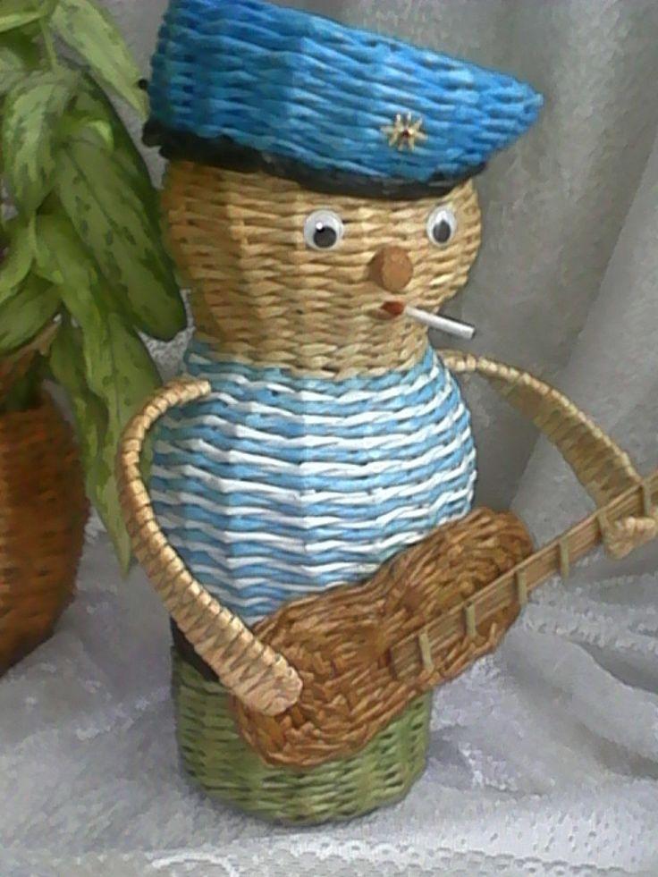 Креативное плетение из газет — Фото | OK.RU