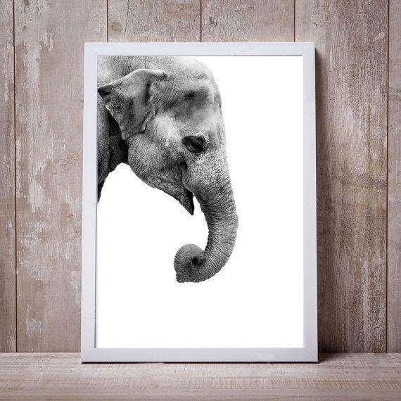 Mira este artículo en mi tienda de Etsy: https://www.etsy.com/es/listing/488494164/print-elephant-art-tiger-wall-decoration