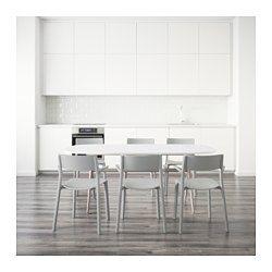 IKEA - OPPEBY/OPPMANNA / JANINGE, Tafel met 6 stoelen