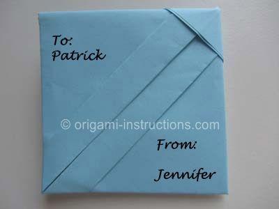 Best  Fold Paper Into Envelope Ideas On   Fold An