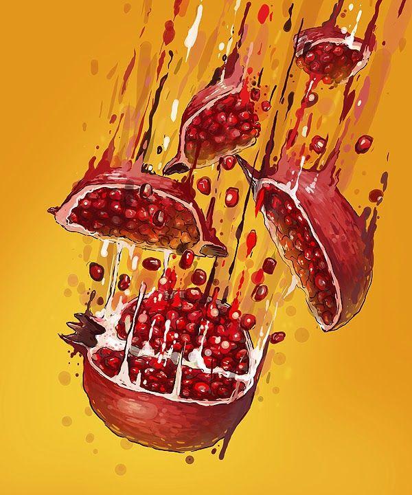 Comidas Retratadas em Deliciosas Ilustrações de Georgi Dimitrov