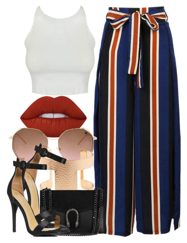 """""""5 2 17"""" by miizz-starburst ❤ liked on Polyvore featuring WithChic, Lime Crime, Forever 21 and Boohoo"""