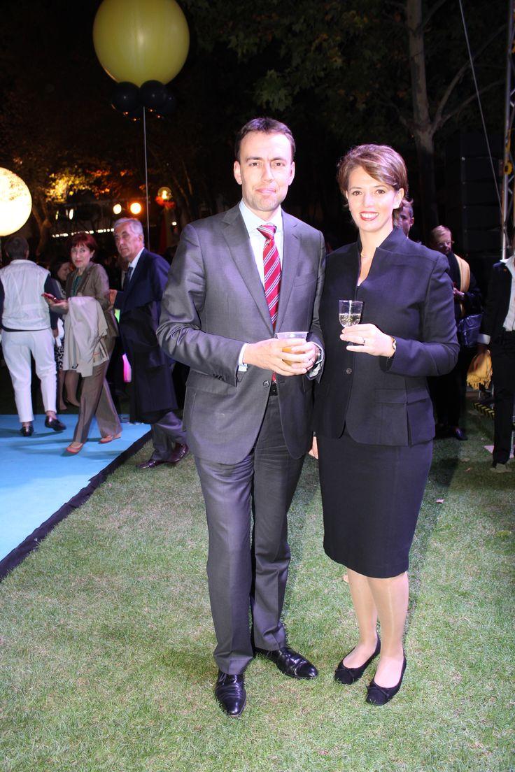 MAYATTA.COM/ Almanya'nın Baden-Württemberg Eyalet Başbakan Yardımcısı ve Maliye Bakanı Dr. Nils Schmid ve eşi Tülay Schmid