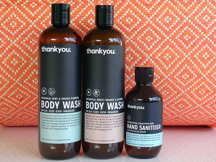 QUICKIE REVIEW : THANKYOU Body Wash & Hand Sanitiser. Read it now at lovefacebeauty.com