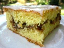 Honey Bun Cake! Based on Winnie the Pooh, I think it should be spelled Hunny Bun Cake!