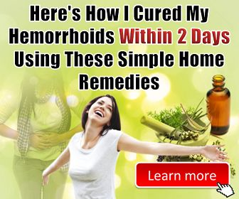 How to get rid of hemorrhoids fast - Discover My 100% Natural Cure for Hemorrhoids that works in 48 Hours !