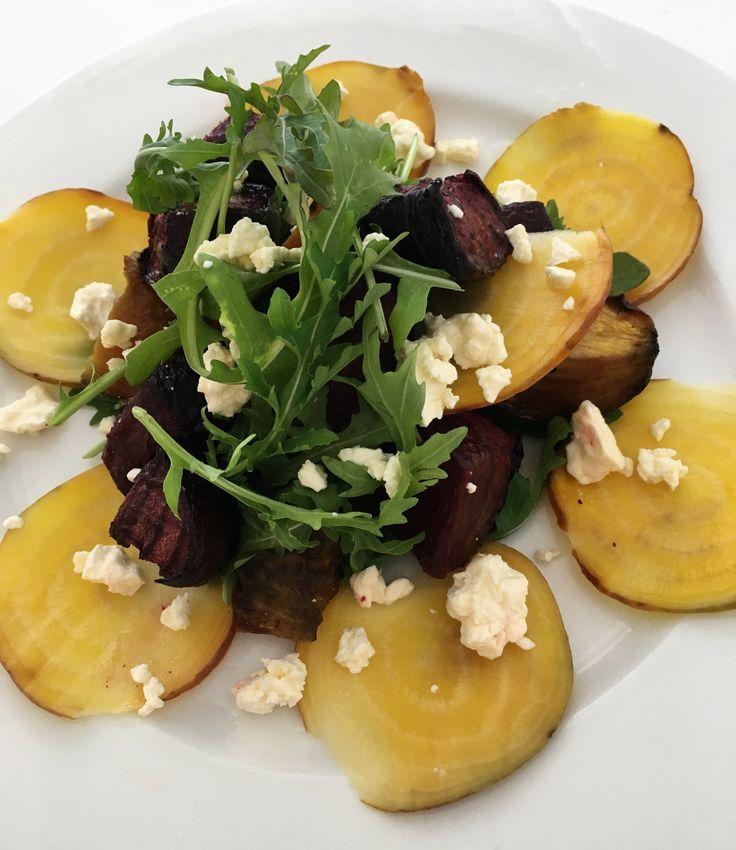Beetroot, Feta & Rocket SaladAmanda Keats  http://www.looksgoodtastesgood.com/home/2017/1/31/beetroot-feta-rocket-salad