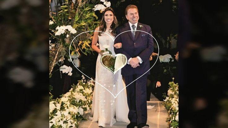 Casamento Luxuoso Da Filha Silvio Santos  Patricia Abravanel Com O Deput...