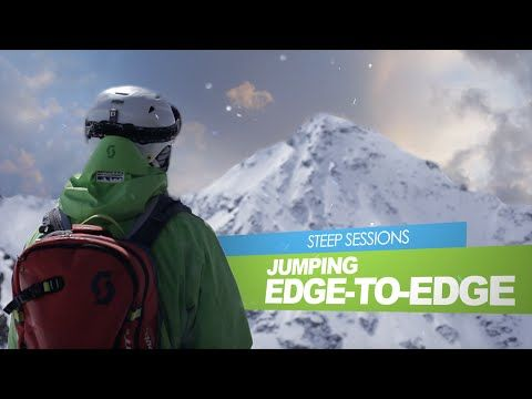 STEEP SESSIONS - Jumping Edge to Edge (Warren Smith Ski Academy) - YouTube