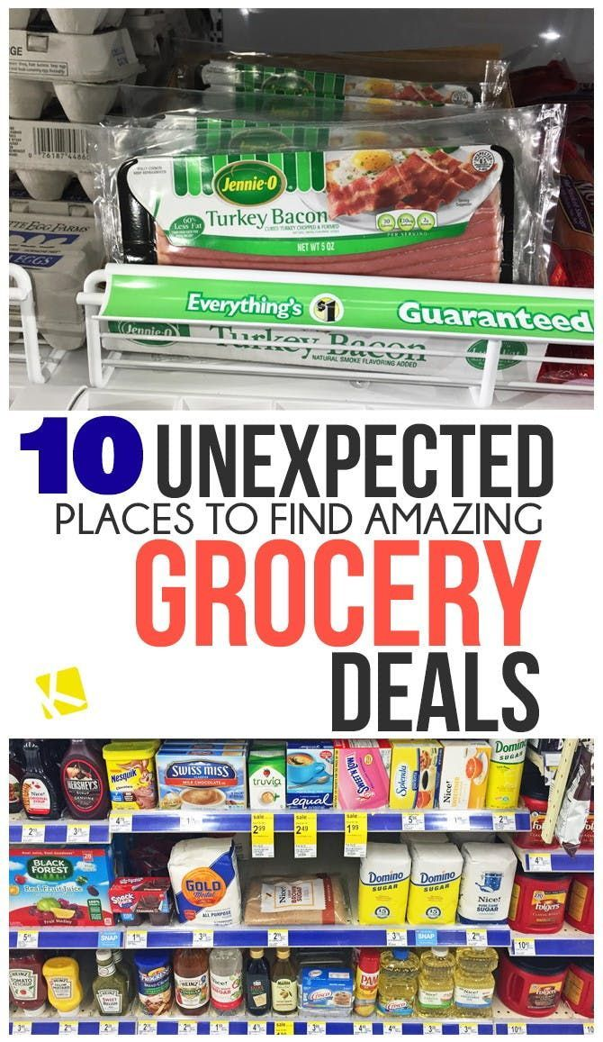 10 Unexpected Places To Find The Best Grocery Deals In 2020 Grocery Deals Grocery Money Saving Meals