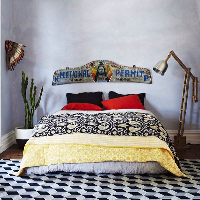 WIN WIN WIN !! Get this look in your very own home... How to WIN:  1. Follow @fenton_and_fenton and @bauwerkcolour  2. Regram this image (or any image from this shoot)  3. Tag @fenton_and_fenton and @bauwerkcolour and #fentonandfentonlovesiris  What you WIN:  1 x Block printed quilt - colour & size of your choice (RRP $280)  1 x Mr Fenton's dhurrie to the value of $1000  4L x Bauwerk IRIS paint, undercoat and 1 x wooden brush (RRP $206.00)  Total Value $1486 Entries Close: Friday 21st of…