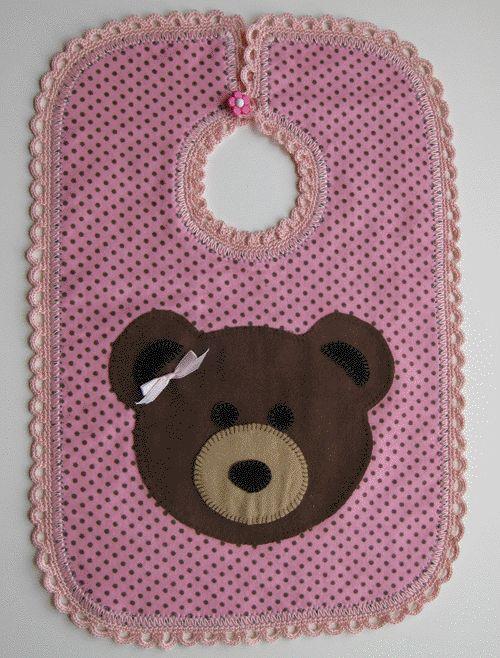 Free Applique Pattern - Lazy Bear