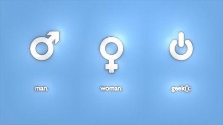 Mand, Kvinde, Geek