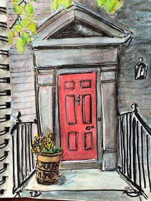 tracyfeldmanartblog: Sketching Newport (Rhode Island)