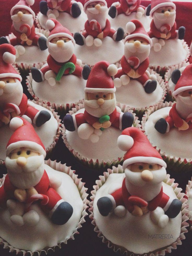 Ho Ho Ho #xmascupcake #santa #christmas
