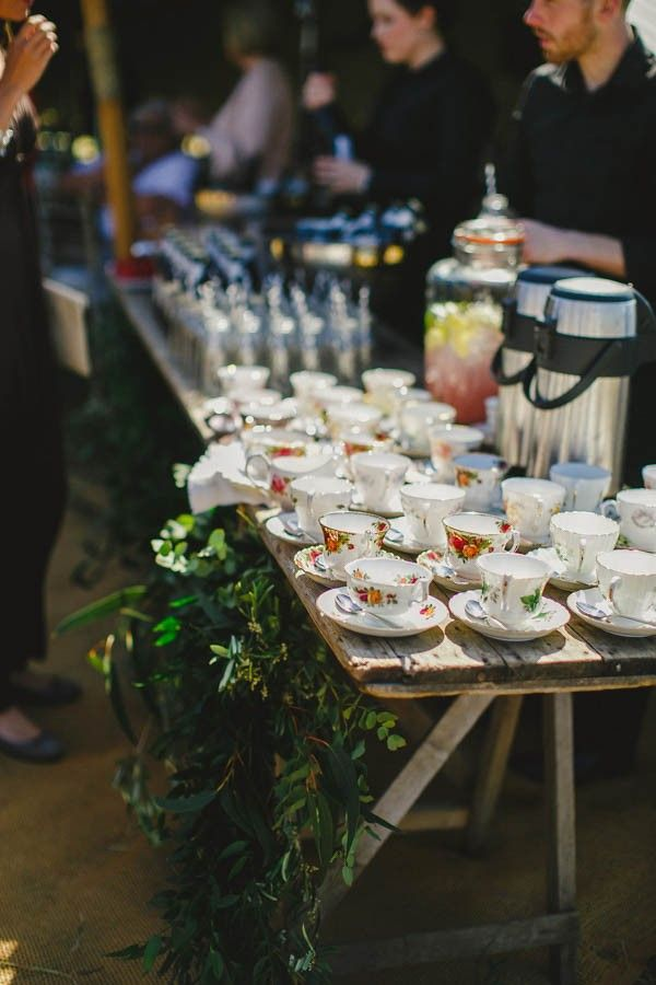 Vintage tea cups   Gather and Tides Photography