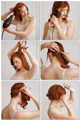Elegante Frisuren selbst gemacht | evet ich will - das türkische Hochzeitsportal