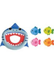 Inflatable Shark Toss Game