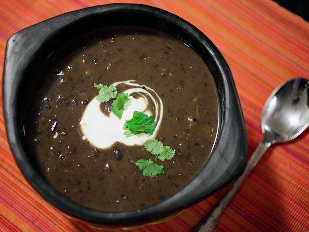 30-Minute Black Bean Soup | Recipe