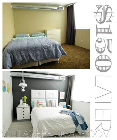 Best 25+ Cheap bedroom makeover ideas on Pinterest   DIY furniture ...