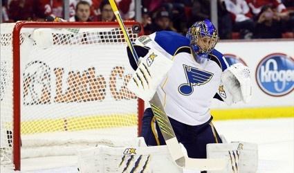 Jaroslav Halak, St. Louis Blues Top Goalie, Placed on Injured Reserve