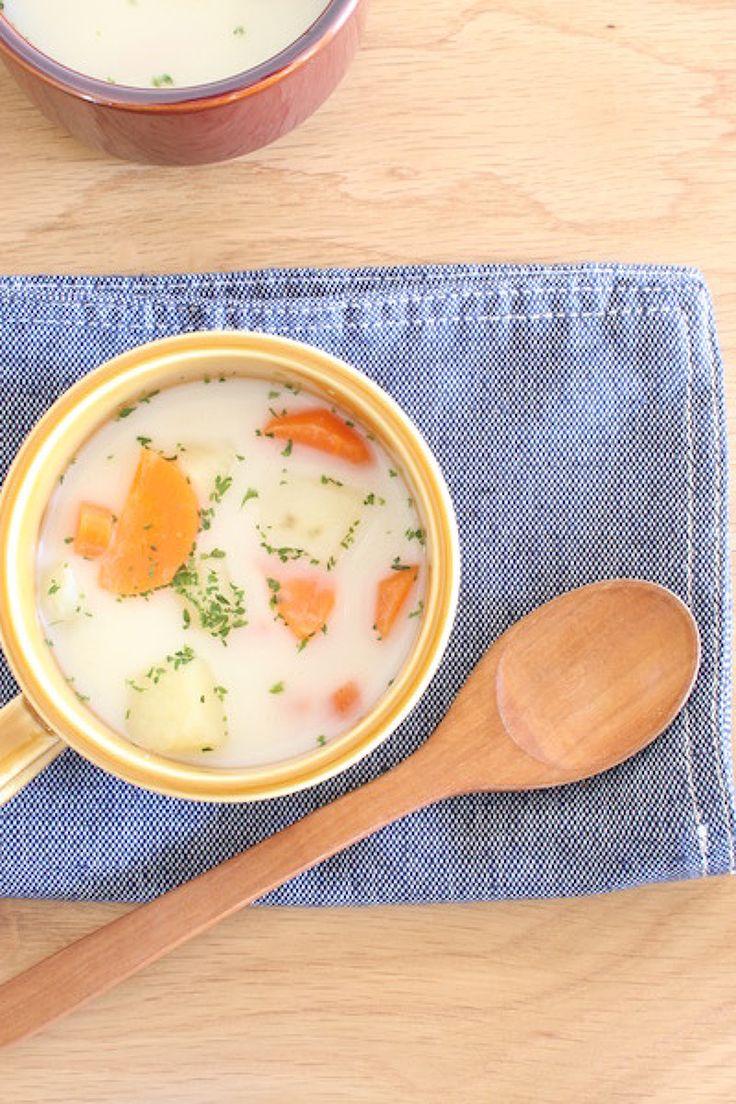新生活に役立つ朝ごはんの時短テク5選 | レシピサイト「Nadia ... みそ汁リメイクリームスープ