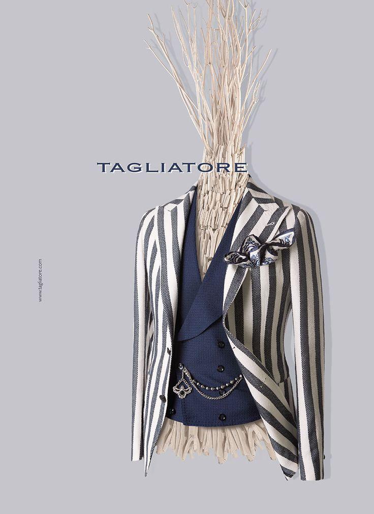 TAGLIATORE(タリアトーレ)は1960年代に創業したLERARIO(レラリオ)社が母体となり、二代目のPino Lerario(ピーノ・レラリオ)が立ち上げたブランドです。トレメッツォは、TAGLIATORE(タリアトーレ)の正規代理店です。