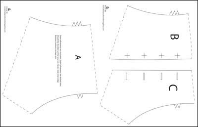 guetre - pattern