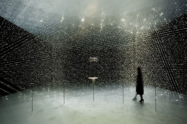 """Tsuyoshi Tane from DGT Architects for Citizen - """"time is TIME"""", Salone del Mobile, Milano, 2016"""