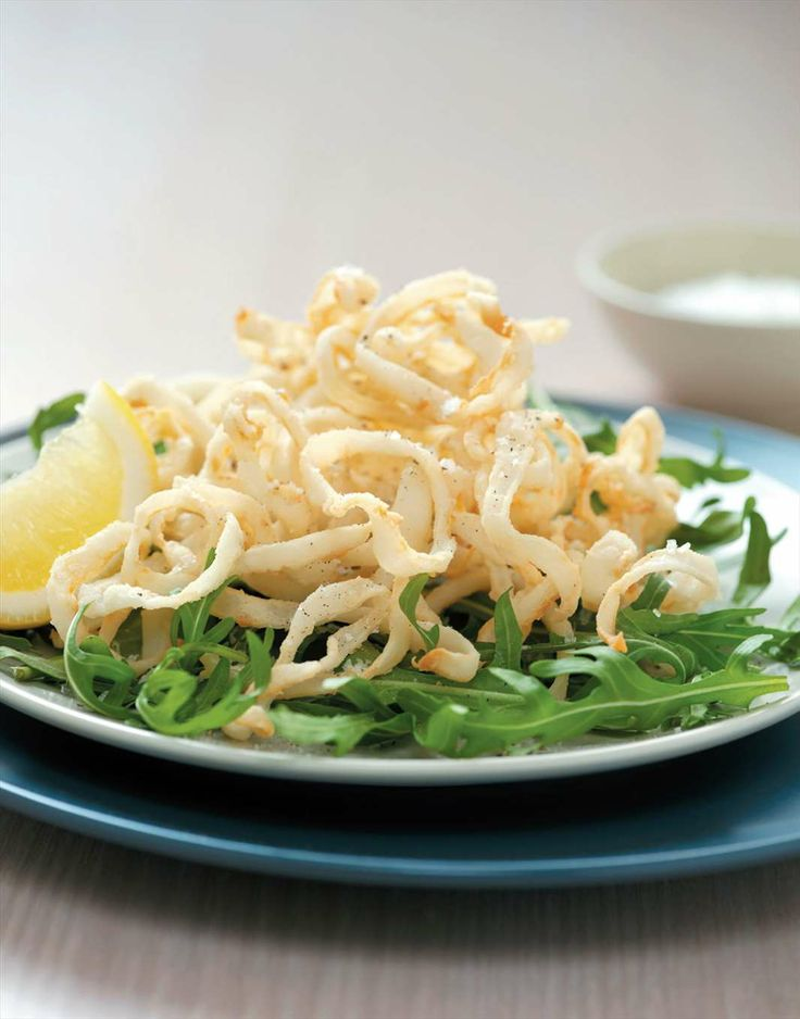 Salt and pepper calamari by Margaret Fulton | Cooked