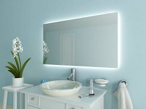 Beautiful Origineller Badezimmerspiegel mit LED Beleuchtung