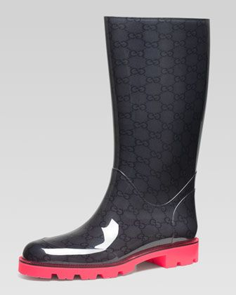 17 Best images about Rain Boots ☔⚡ on Pinterest | Gucci boots ...