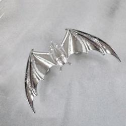 Retro and Punk Style Bat Shape Earrings